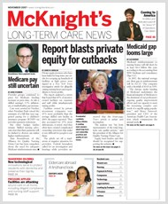 November 2007 28 11 Issue of McKnight's Long Term Care News