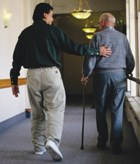 Nursing home physical restraint use drops 40%