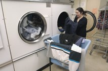 Laundry: saving money through new laundry technology and maintenance