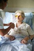 Number of nursing home beds, residents decreasing, report finds