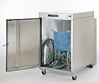 Equipment washer can sanitize up to 20 wheelchairs per hour