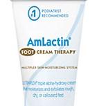 New AmLactin foot cream immerses feet in moisture