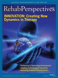 Rehab Perspectives Spring 2009: Innovation: Creating New Dynamics in Therapy