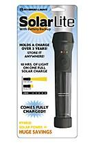 Hybrid-solar flashlight offers Earth-friendly alternative