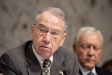 """Simply acknowledging"" the social media abuses is not enough, Grassley wrote"