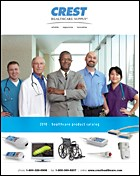Crest Healthcare Supply unveils 2010 product catalog