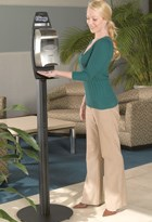 Electronic cassette dispenser floor stand available