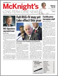 November 2010 Issue of McKnight's Long Term Care News