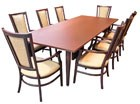 Large table helps create intimate settings