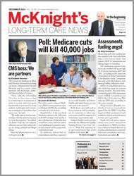 December 2011 Issue of McKnight's Long Term Care News