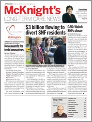 April 2012 Issue of McKnight's Long Term Care News