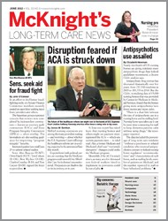 June 2012 Issue of McKnight's Long Term Care News