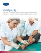 Brochure explains how wound care product works