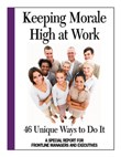 Book helps managers improve staff morale