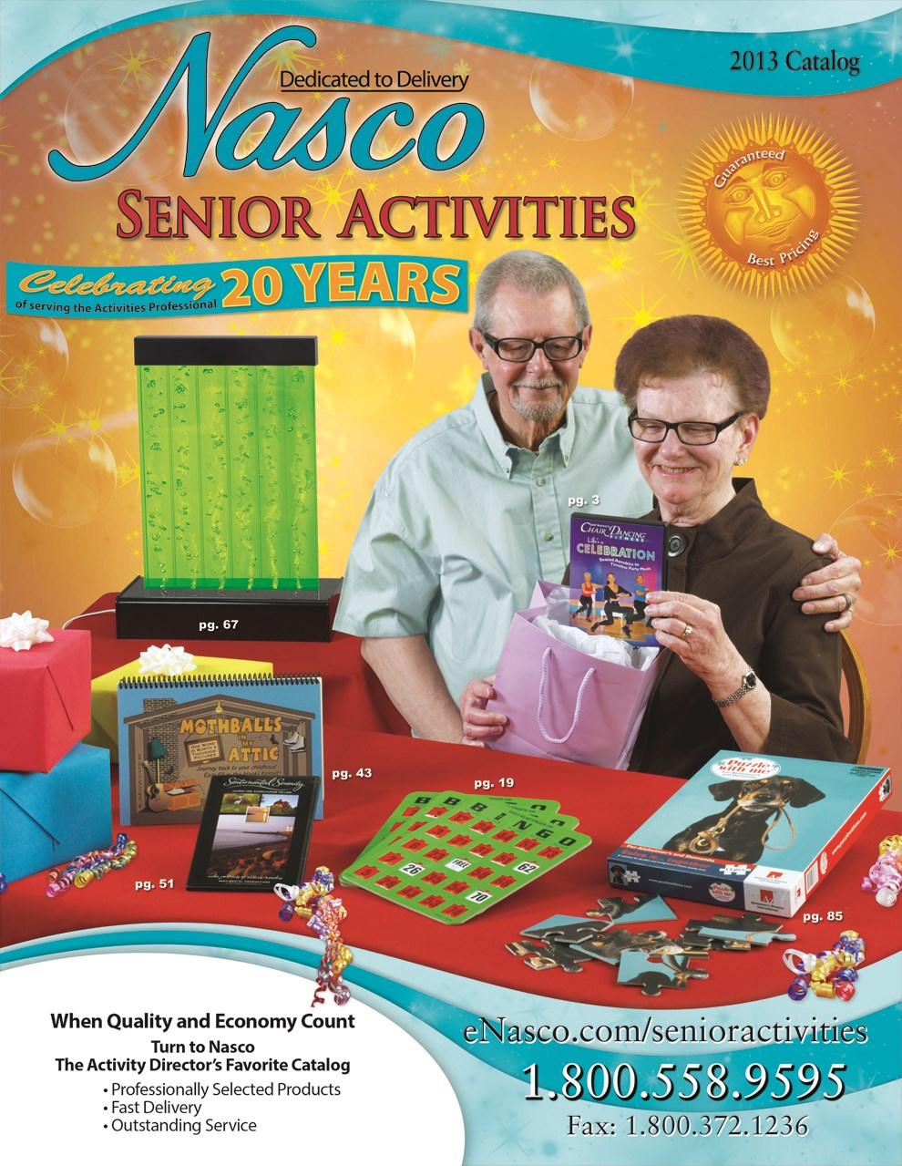 Newest Nasco activities catalog now available