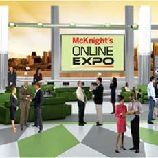The McKnight's Online Expo is now underway