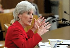 Sebelius spoke at the NIC 2015 Capital & Business Strategies Forum