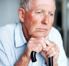 Seniors with depression are a third more likely to contract the illness.
