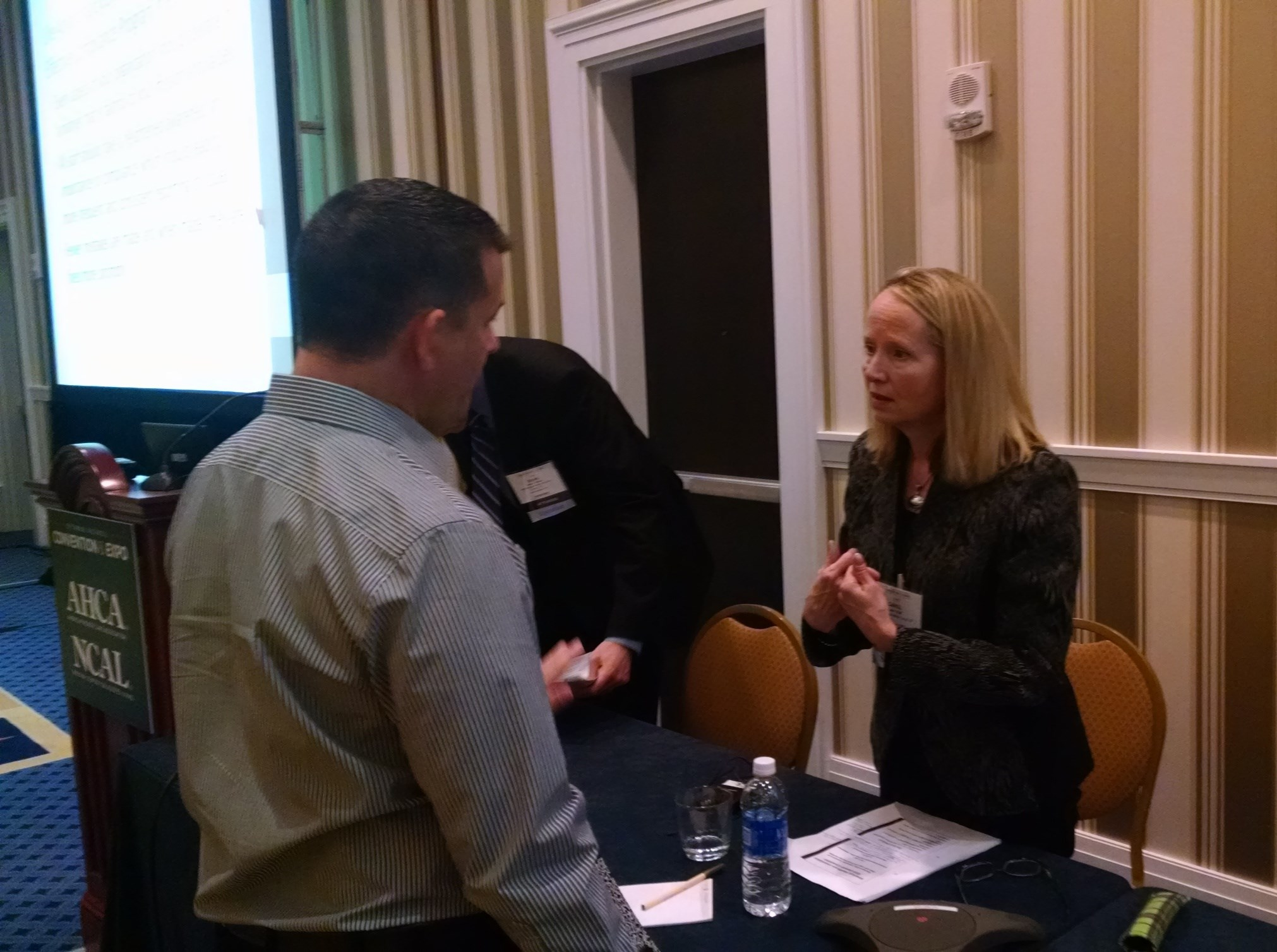 Carol Rolf spoke about compliance issues.