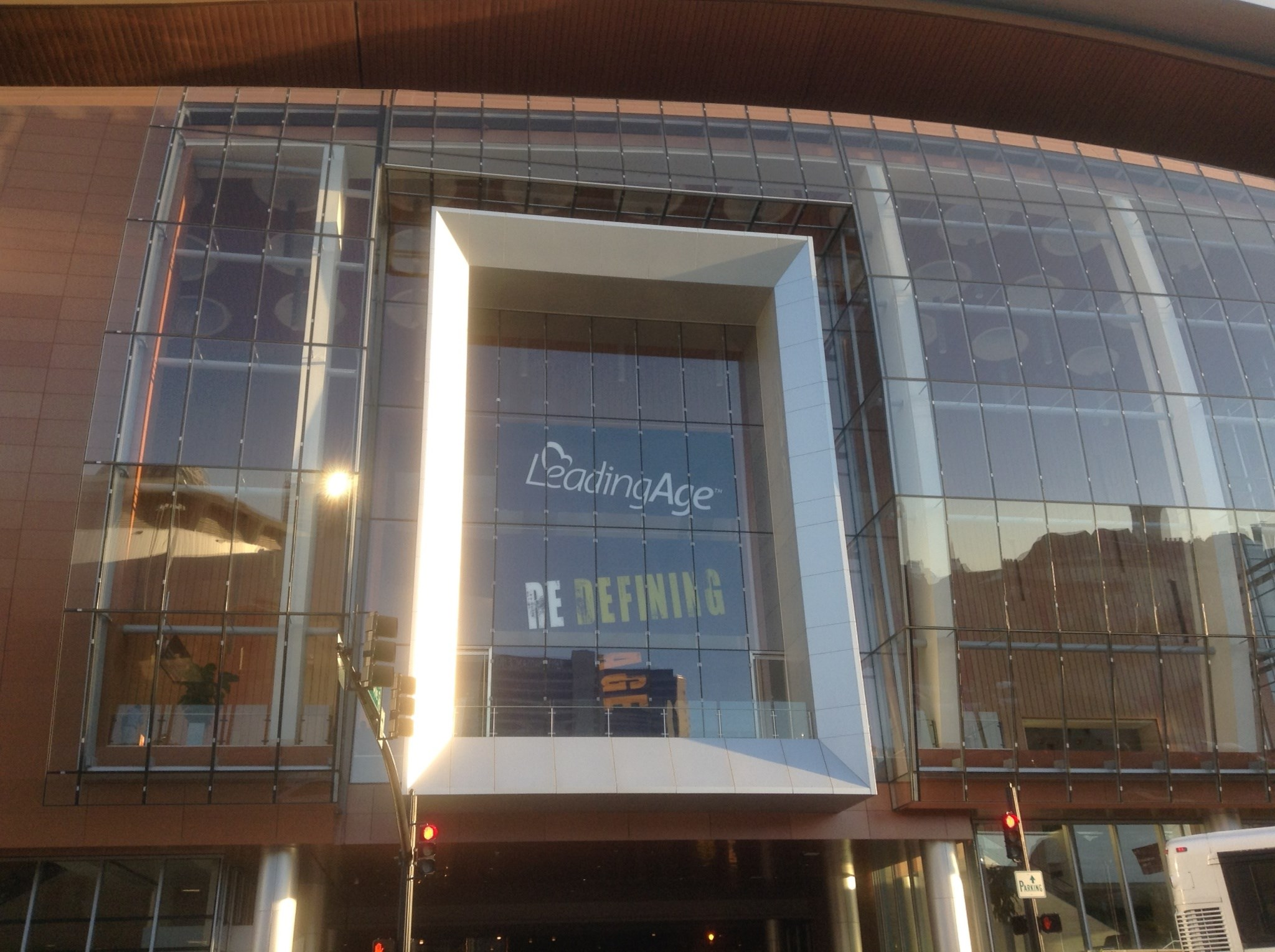 The annual LeadingAge conference is being held at the Music City Center in Nashville.