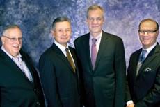 (L to R): Vladeck, Guillard, Parkinson, Benjamin