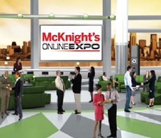 The expo environment simulates virtually every aspect of a traditional show.