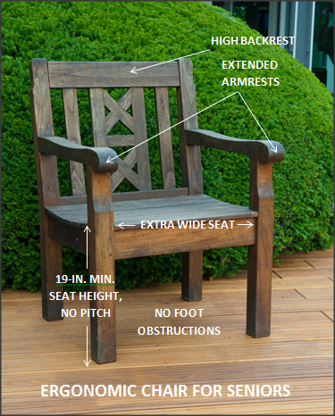 Elders Preferences In Outdoor Seating