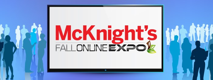 Sign up for McKnight's Fall Expo