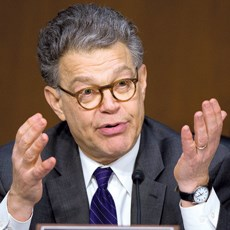 Sen. Al Franken (D-MN) says the good intent of pre-event binding arbitration clauses may be outweighed by the bad. He and others want the pacts outlawed.