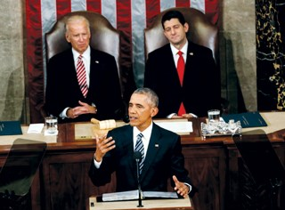 Speech mostly omits health-related issues