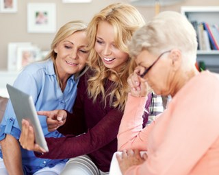 Dementia patients helped by art-based tablet application
