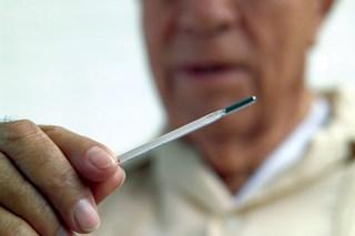 Dementia spur: lost body heat