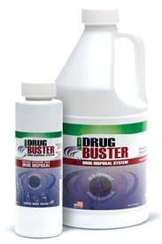 Drug Buster drug disposal system