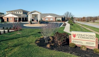 The Kansas center includes specialty rehab services such as wound and respiratory care.