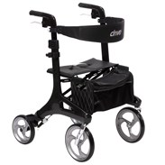 Carbon fiber frame rollator released