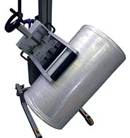 Rotating clamp allows for more load capacity