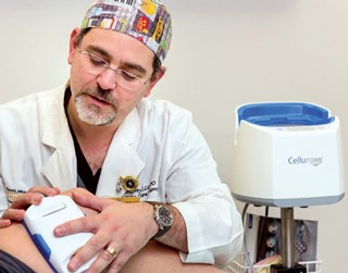 Skin grafting method stops chronic wound recurrence