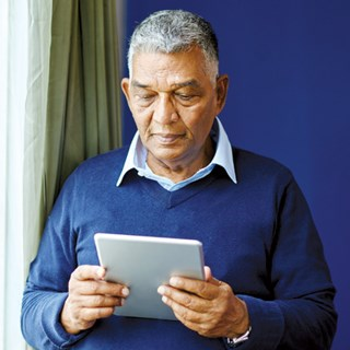 Seniors using the iPad while walking gave positive feedback to researchers at UC-Berkeley.
