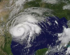 The evacuated residents were expected to return to their home facility near Corpus Christi on Monday. Source: NASA