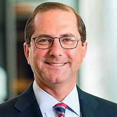 Former Eli Lilly executive Alex Azar was named HHS Secretary on Monday.