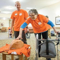 Clemson researchers tackle dementia with football memories