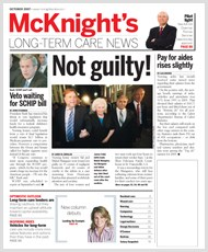 October 2007 Issue of McKnight's Long Term Care News