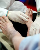Podiatry and blood draw services may have been associated with Hep C outbreak.