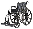Charisma wheelchairs are now available in larger sizes