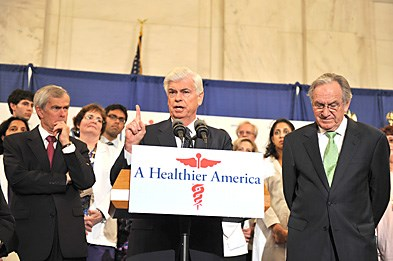 Senior Democrats on the HELP committee held a press conference last week on healthcare reform.