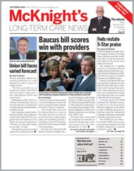 October 2009 Issue of McKnight's Long Term Care News