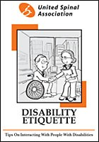 United Spinal Association releases free disability etiquette booklet