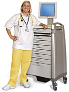 Medication cart designed for long-term care professionals