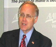 Gov. Jim Douglas (R) is the 2009-2010 chair of the National Governors Association.