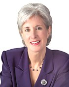 Department of Health and Human Services Secretary Kathleen Sebelius